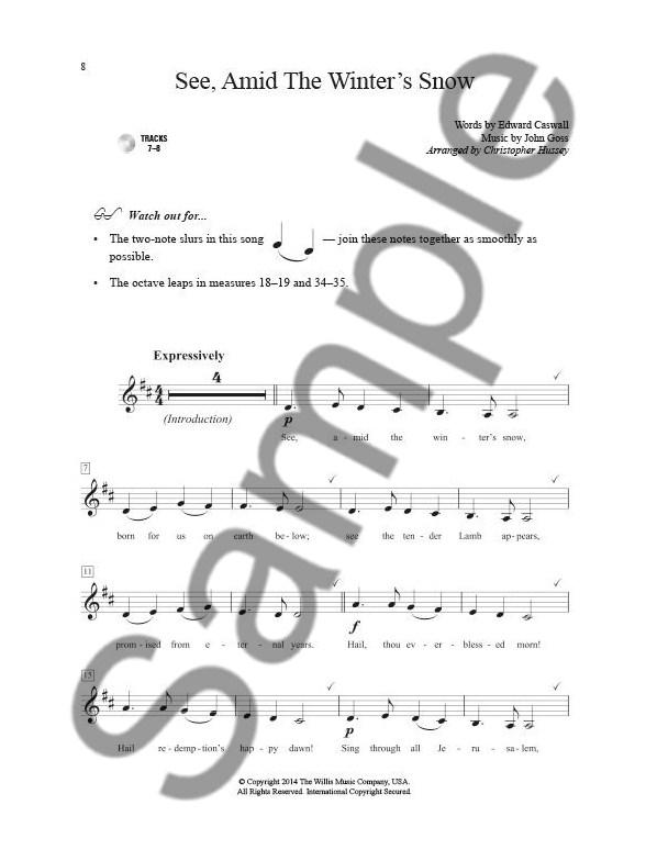 A Dozen A Day Trumpet Songbook: Christmas (Book/CD