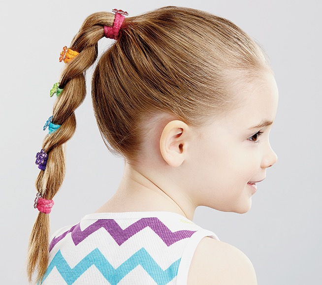 Pettinature bimba capelli medi