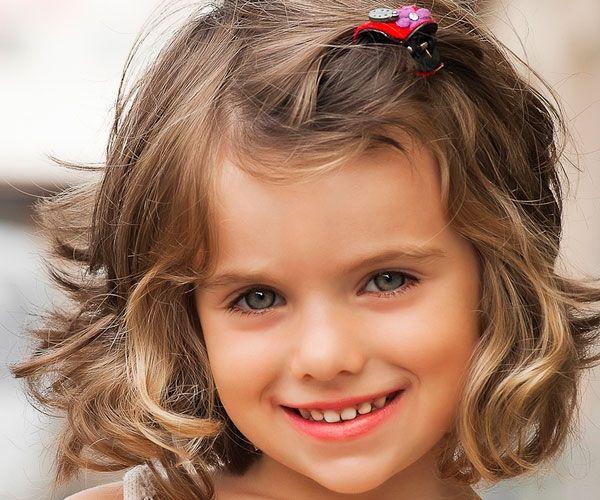 Taglio di capelli bambina 2 anni