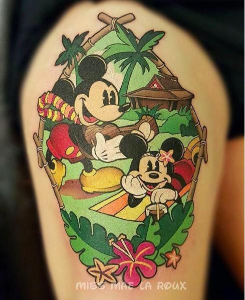 ClioMakeUp-tatuaggi-disney-piccoli-minimal-grandi-colorati-topolino