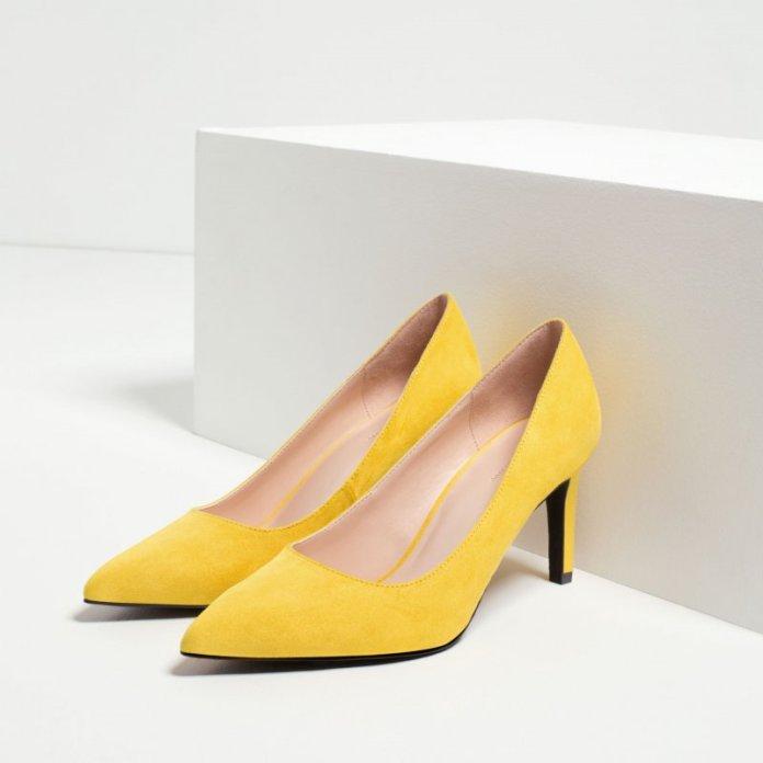ClioMakeUp-scarpe-star-occasione-festa-abito-matrimonio-red-carpet-low-cost-tacchi-colorati-gialli-stuart-weitzman-dupe-19-95-zara