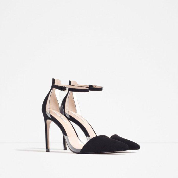 ClioMakeUp-scarpe-star-occasione-festa-abito-matrimonio-red-carpet-low-cost-cap-toe-pvc-gravito-rossi-plexi-louboutin-dupe-zara-39-95
