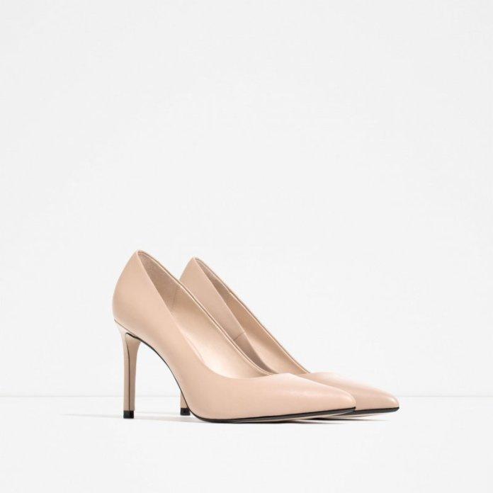 ClioMakeUp-scarpe-star-occasione-festa-abito-matrimonio-red-carpet-low-cost-tacchi-nude-decollete-zara-49-95