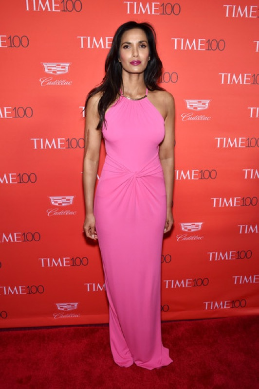 ClioMakeUp-donne-influenti-mondo-time-100-red-carpet-beauty-look-Padma-Lakshmi