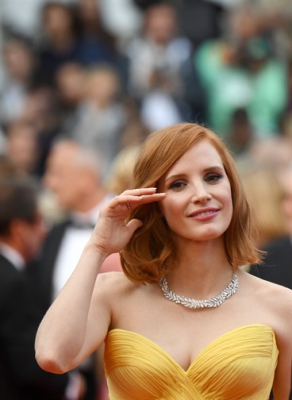 ClioMakeUp-Cannes-2016-red-carpet-beauty-look-primi-giorni-star-vip-jessica-chastain-1