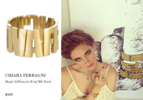 Clio-MakeUp-Fashion-Blogger-Flop-vaffanculo-ring-anello-gioielli