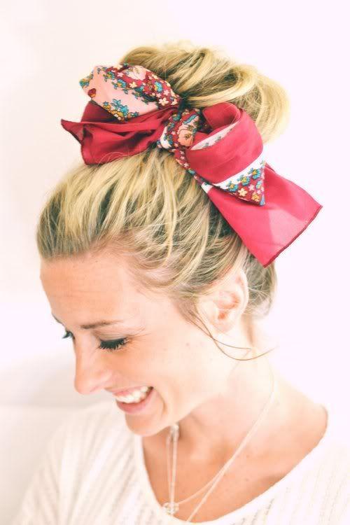 ClioMakeUp-come-indossare-foulard-4-chignon