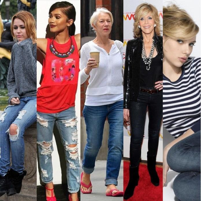 787692b4f278b5 Come indossare i jeans ed essere al TOP ad ogni età!