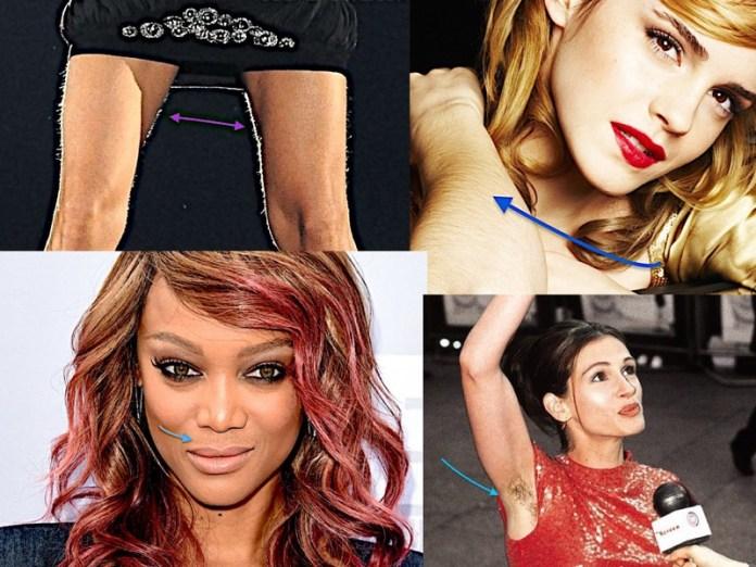 ClioMakeUp-gambe-braccia-pelose-star-celebrity-peli-8