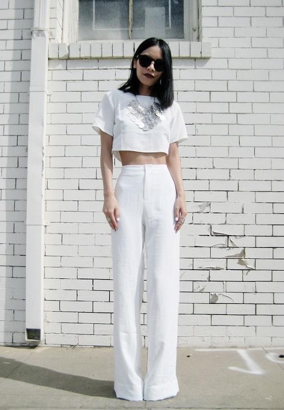 ClioMakeUp-modi-indossare-tshirt-stile-bianco