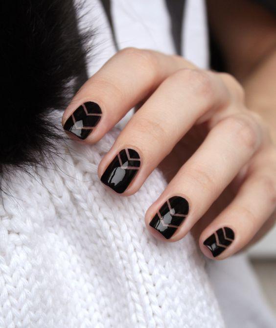 mejores de uñas negros esmaltes blancos Los y strxQBChd