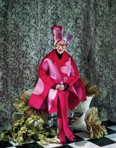 ClioMakeUp-iris-apfel-icona-moda-stile-makeup-trucco-fucsia