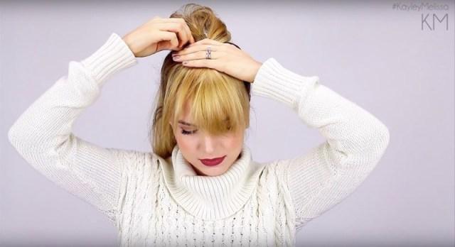 ClioMakeUp-frangia-finta-capelli-chignon-acconciatura-faux-bangs-10