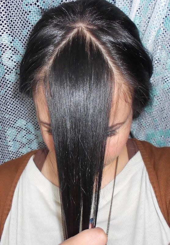 Come scalare i capelli medi da sola