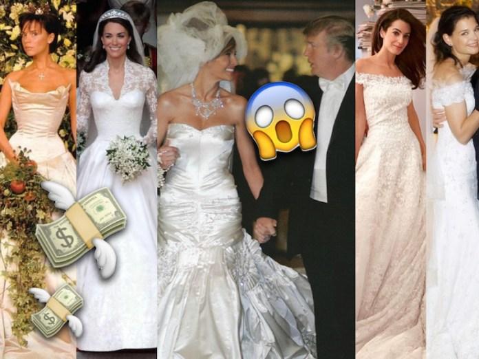 Vestiti Da Sposa 10000 Euro.Gli Abiti Da Sposa Piu Costosi Di Sempre Delle Star