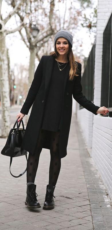 ClioMakeUp-look-total-black-cintura-cappello3