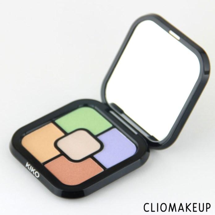 cliomakeup-recensione-color-correct-concealer-palette-kiko-3