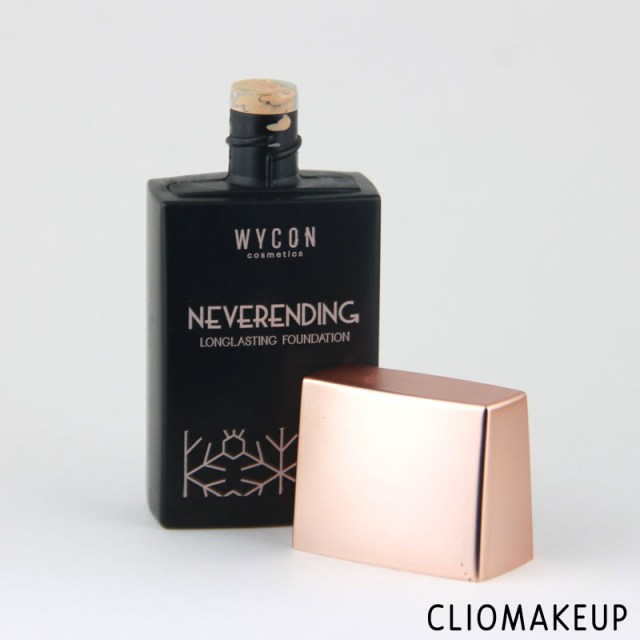 cliomakeup-recensione-neverending-foundation-snow-diva-collection-wycon-3