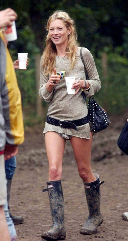 ClioMakeUp-scarpe-famose-celebrities-film-kate-moss-wellington-hunter-boots-stivali