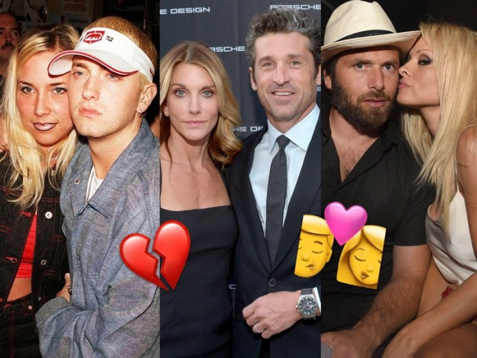 ClioMakeUp-coppie-vip-tornate-insieme-dopo-aver-divorziato-celebrity-patrick-dempsey-pamela-anderson-eminem-moglie-marito