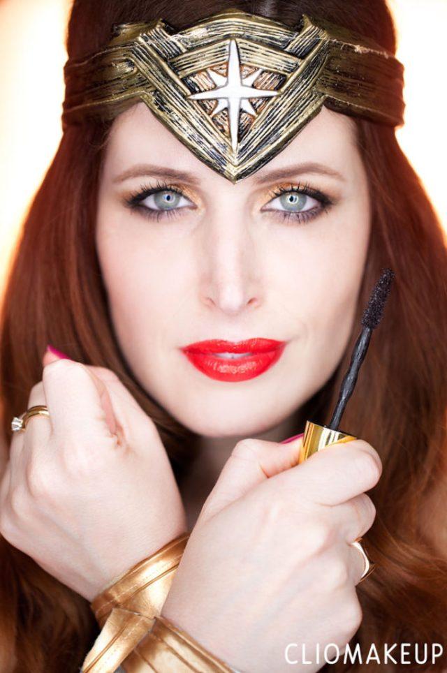 ClioMakeUp-Wonder-Woman-Maybelline-rossetti-smalti-mascara-big-shot-kit-film-swatch-teamclio