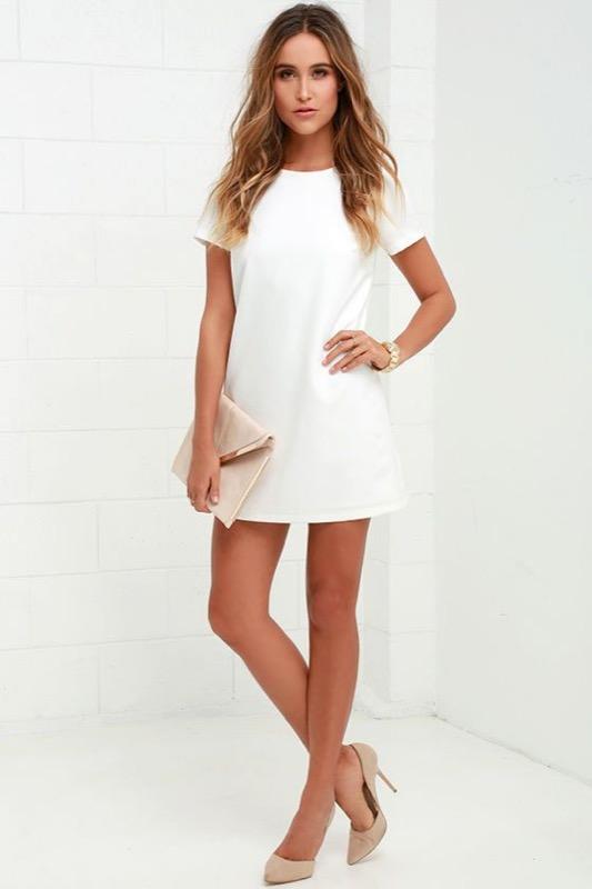 quality design 2d696 484ef Vestiti bianchi: come abbinare per ogni occasione il colore ...