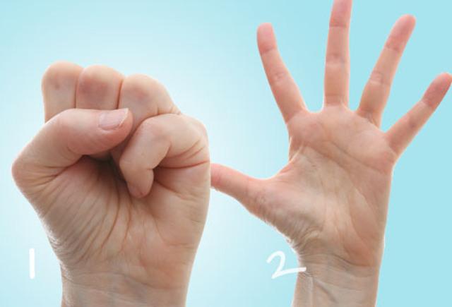 come posso assottigliare le dita