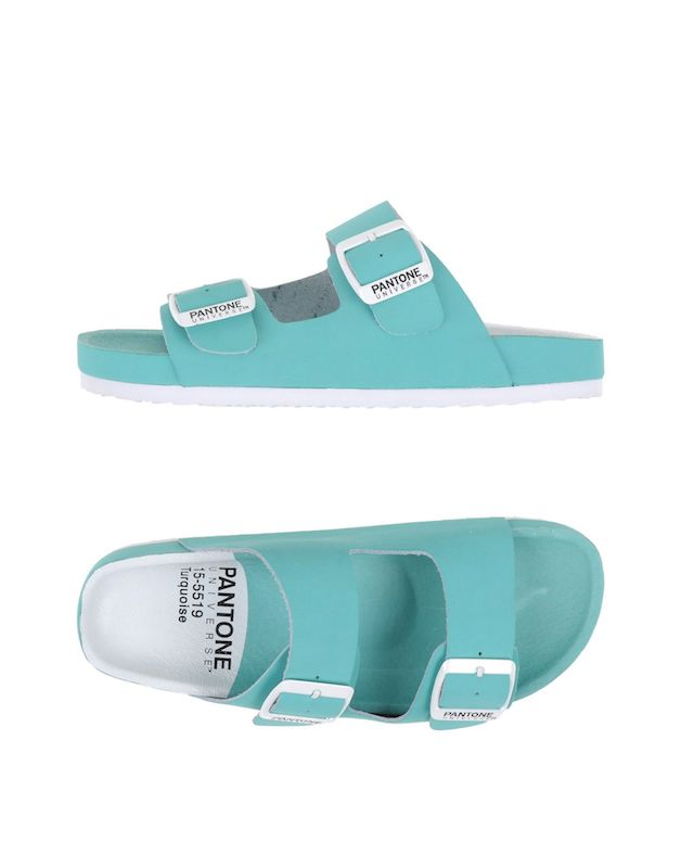 ClioMakeUp-sandali-pool-sandal-pantone-turquoise