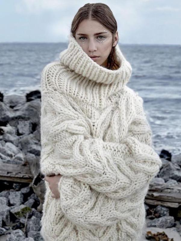l'ultimo efd1e e9a78 Il maglione oversize è il capo invernale perfetto: come ...
