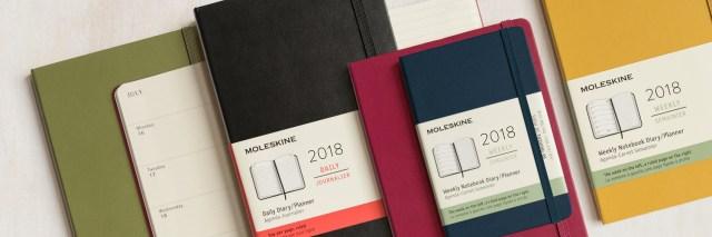 2cliomakeup-blog-agende-2018-moleskine-settimanale-2