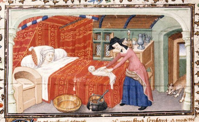 cliomakeup-essere-incinte-nel-medioevo-13-parto