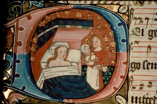 cliomakeup-allattamento-nel-medioevo-4-parto