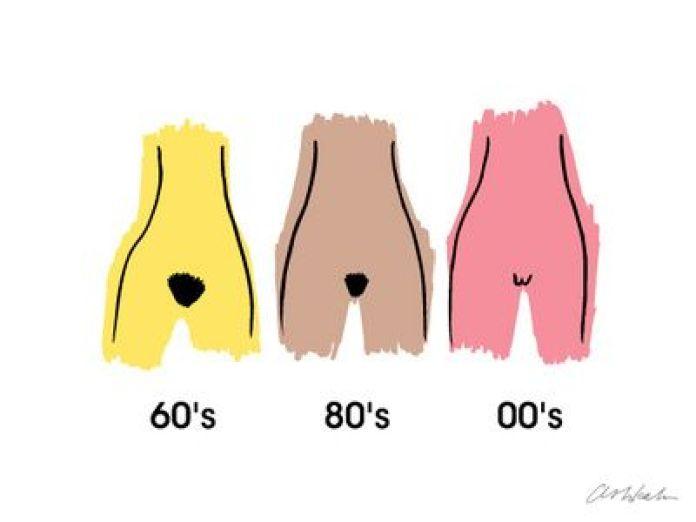 cliomakeup-evoluzione-peli-pubici-anni-60-80-2000