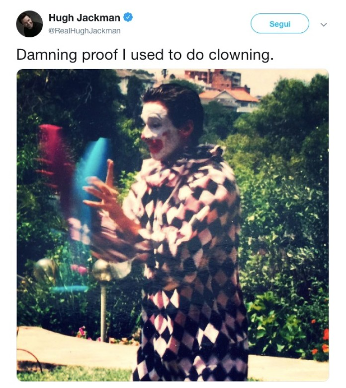 cliomakeup-lavori-strani-star-7-hug-jackman-clown