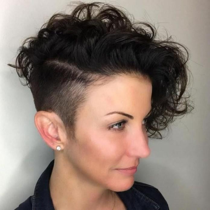Capelli rasati donna il trend 2019 dall'undercut fino alle ...