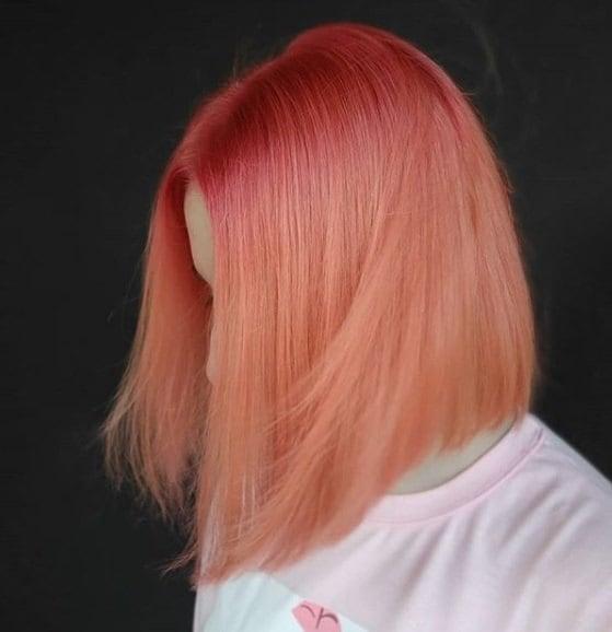 Capelli colorati 2019 rosa