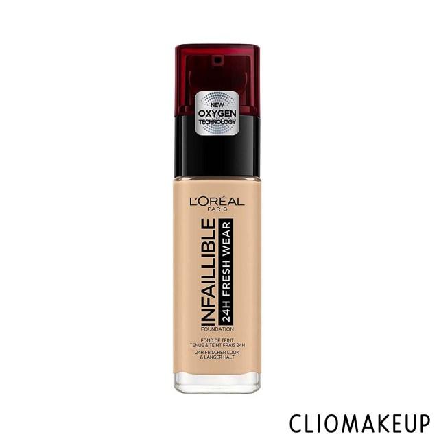 cliomakeup-recensione-fondotinta-l'oreal-infaillible-24h-fresh-wear-foundation-1