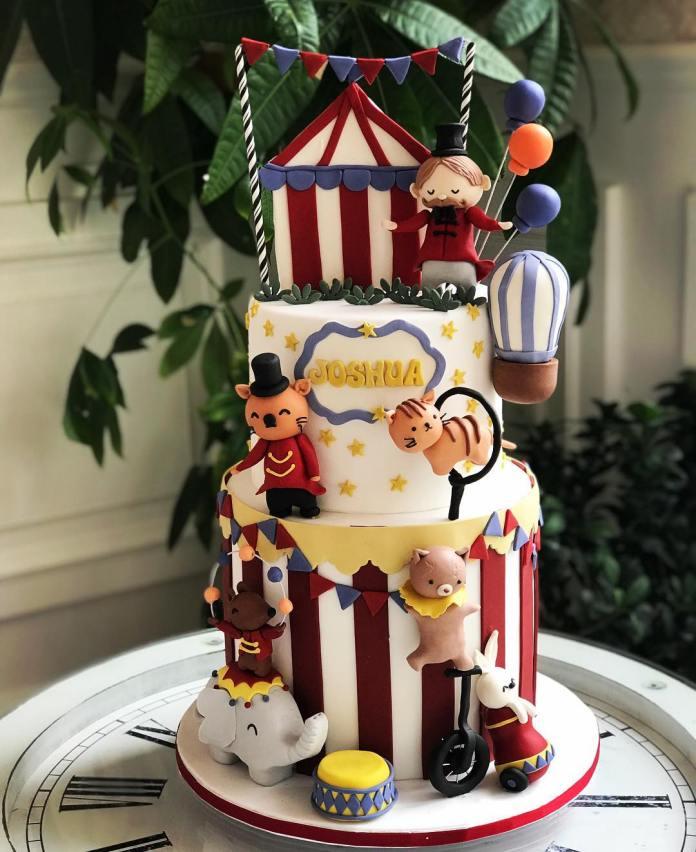 cliomakeup-come-organizzare-un-baby-shower-13-torta-circo