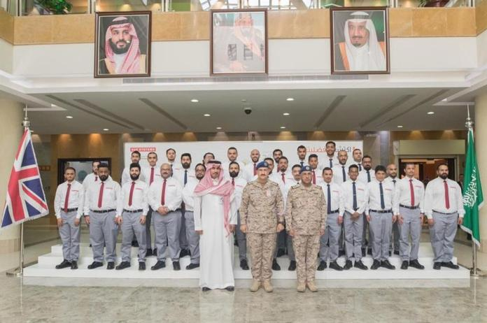 The Commander of the Air Force sponsors the graduation ceremony for the first batch of aircraft maintenance in the Kingdom