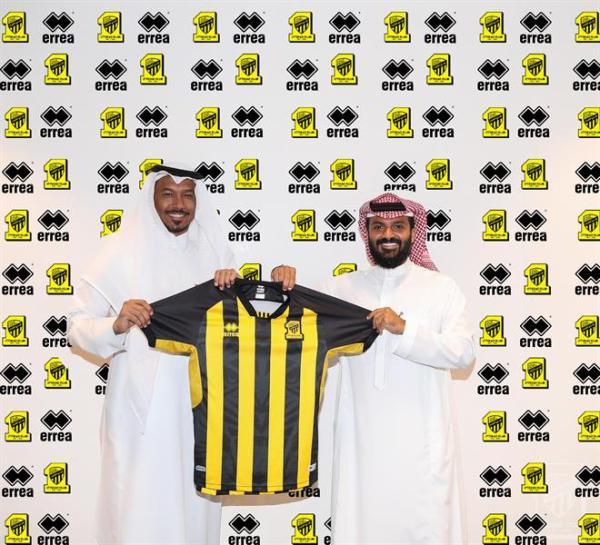 """Al-Haili"" Inaugurates Al-Ittihad team kits"