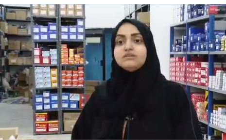 Mwatana tells her experience selling auto parts in Jeddah