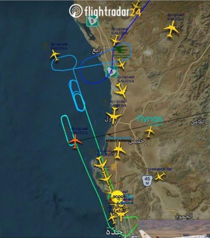 فيديو.. هبوط اضطراري لطائرة في مطار الملك عبدالعزيز.. ومصادر: تعرضت لخلل فني