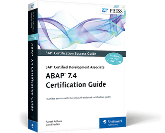 ABAP 74 Certification Guide  C_TAW12_740  Book and EBook