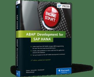 ABAP Development for SAP HANA  Book and EBook  by SAP PRESS