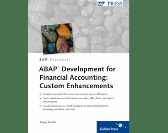 ABAP Development for Financial Accounting Custom Enha  by SAP PRESS