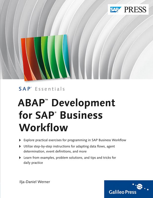 ABAP Development for SAP Business Workflow von IljaDaniel Werner