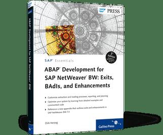 ABAP Development for SAP NetWeaver BW Exits BAdIs a  by SAP PRESS
