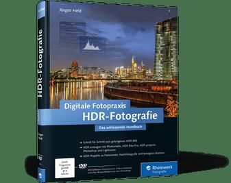 Digitale Fotopraxis HDR-Fotografie Das umfassende Handbuch von Jürgen Held, Cover mit freundlicher Genehmigung von Rheinwerk