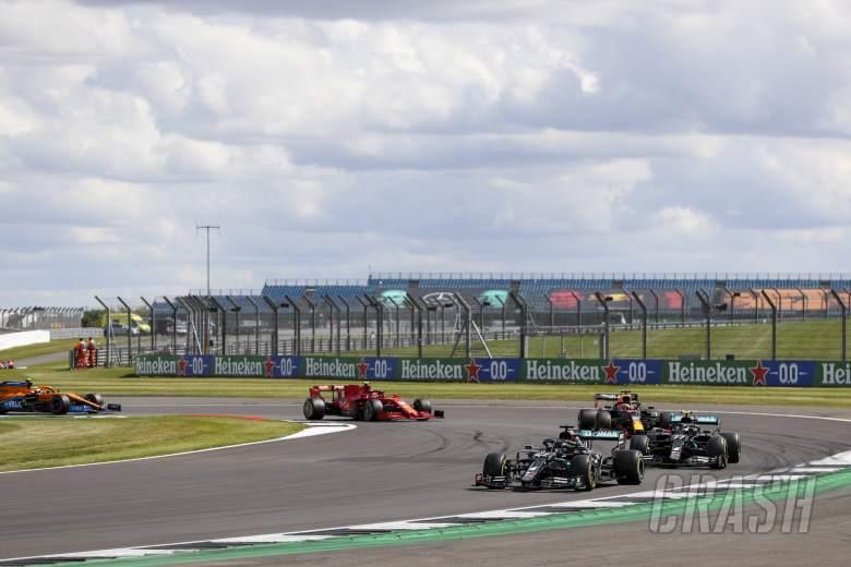 2020 F1 British Gp Race Day Live F1 News Crash