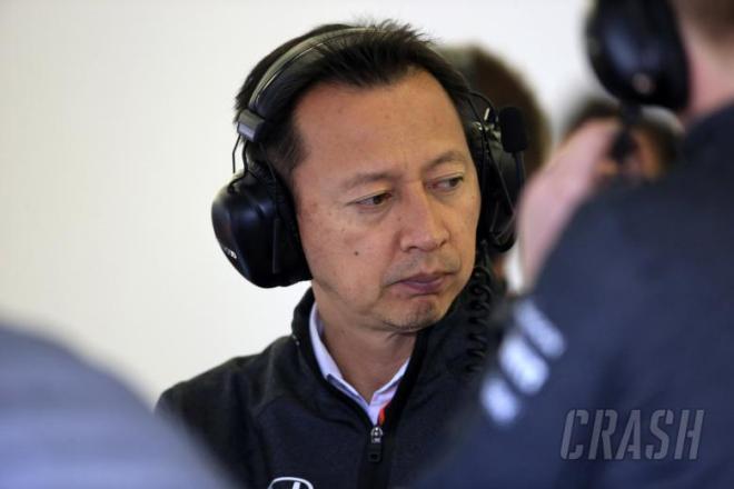 14.07.2017 - Free Practice 2, Yusuke Hasegawa (JPN) Head of Honda F1 Programme